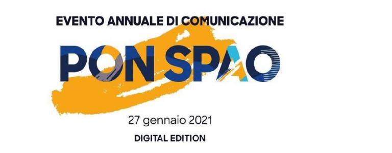 INVITO ALL'EVENTO ANNUALE DI COMUNICAZIONE PON SPAO